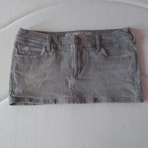 Hollister Denim Miniskirt Circa Mid 2000s